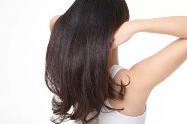 きれいな髪の毛